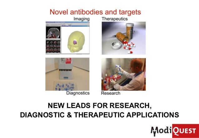 NEW LEADS FOR RESEARCH, DIAGNOSTIC & THERAPEUTIC APPLICATIONS