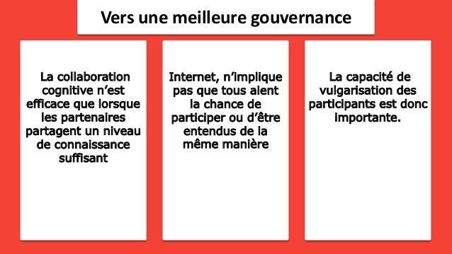 La gouvernance démocratique et les technologies Slide 3