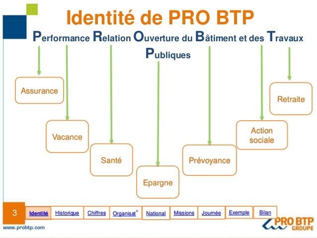 Mod le pr sentation institutionnelle pro btp oct2012 - Indice national des salaires du btp ...