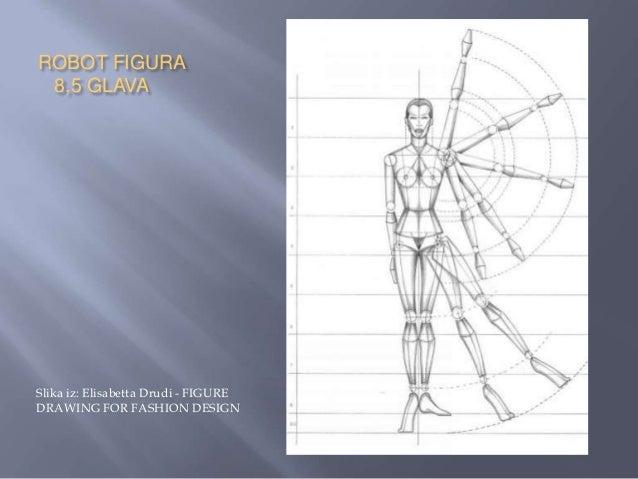    Figura od 8,5 glava je, u odnosu na figuru od 8    glava, u donjem delu produžena za pola    glave, tako što su usprav...