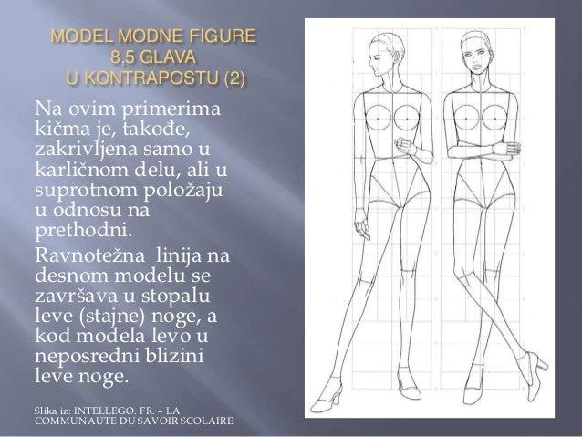    Pod terminom stilizacija podrazumevaju se promene    proporcija modne figure od 8 ½ glava. To se moţe    učiniti na vi...