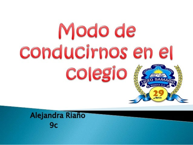 Alejandra Riaño 9c