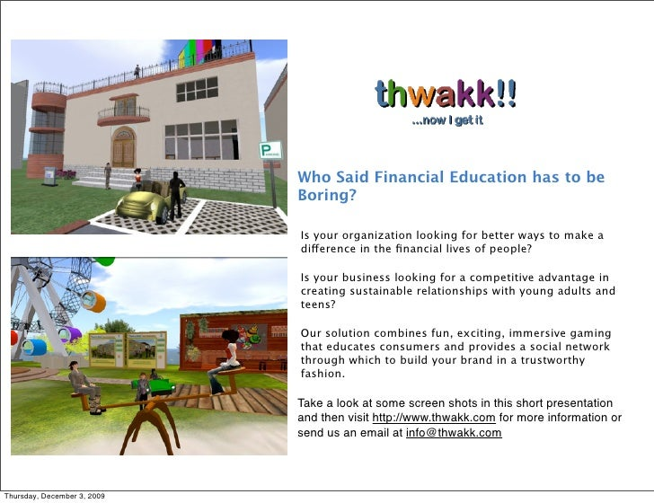 Who Said Financial Education has to be                              Boring?                               Is your organiz...