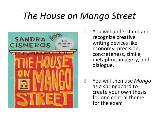house on mango street thesis