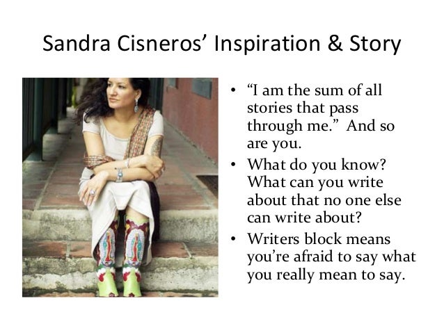 review of sandra cisneros short story Sandra cisneros - the house on mango street cisneros' the house on mango street review sandra brown has captivated her millions of readers with stories of.
