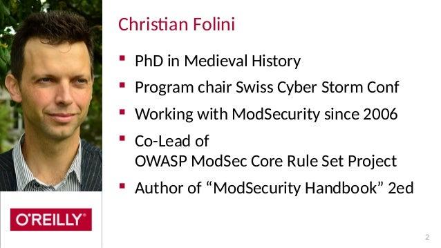 Optimizing ModSecurity on NGINX and NGINX Plus Slide 2