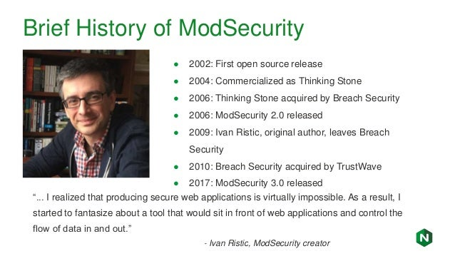 Modsecurity And Nginx Tuning The Owasp Core Rule Set