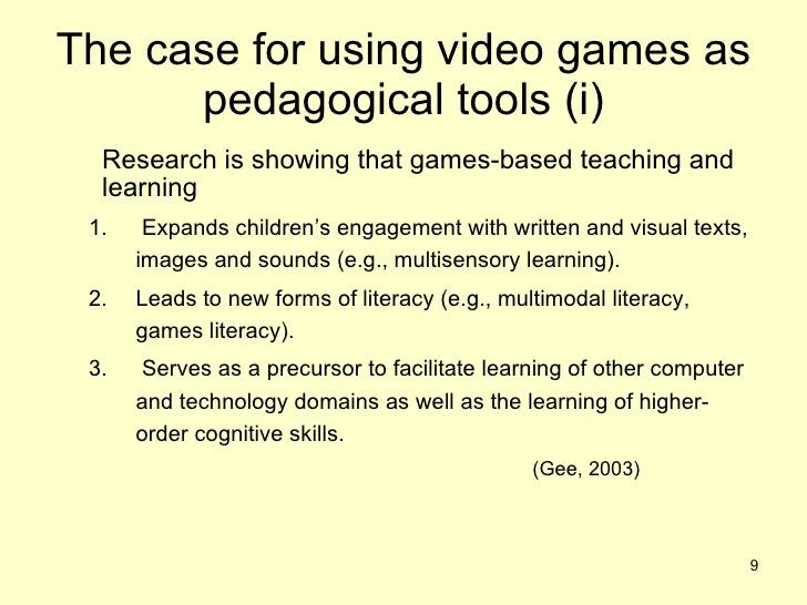 effects of instructional games on facilitating Educational games are games explicitly designed with educational purposes, or which have incidental or secondary educational value all types of games may be used in an educational environment all types of games may be used in an educational environment.