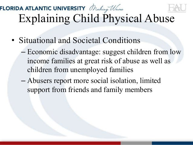 Understanding the Behavioral and Emotional Consequences of Child Abuse