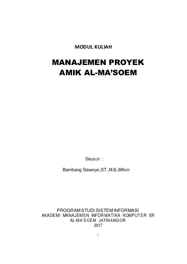 Materi manajemen konstruksi pdf