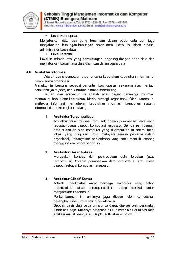 Modul sistem informasi 1 2 modul sistem informasi versi 11 page 10 11 malvernweather Choice Image