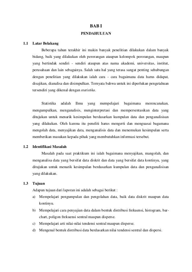 Modul 1 Statistika Deskriptif