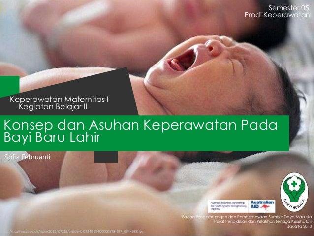 Konsep dan Asuhan Keperawatan Pada Bayi Baru Lahir Semester 05 Kegiatan Belajar II Keperawatan Maternitas I Badan Pengemba...