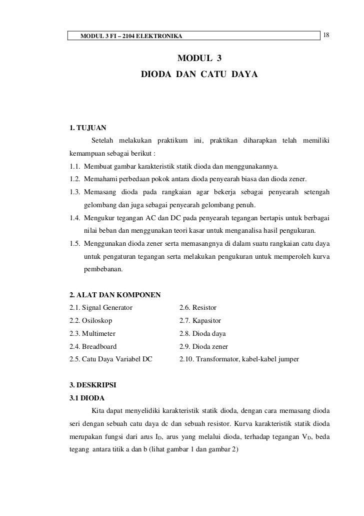 MODUL 3 FI – 2104 ELEKTRONIKA                                                  18                                    MODUL...