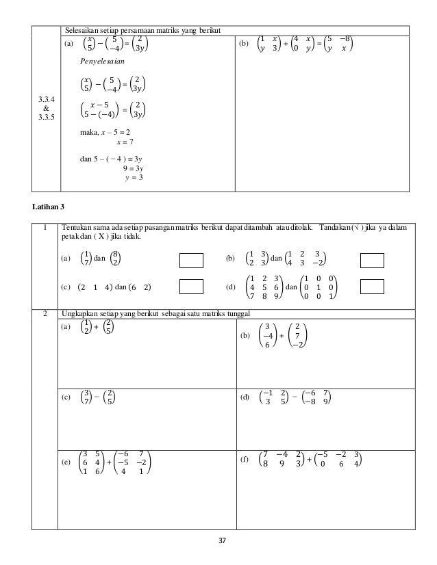 Modul 3 Matriks