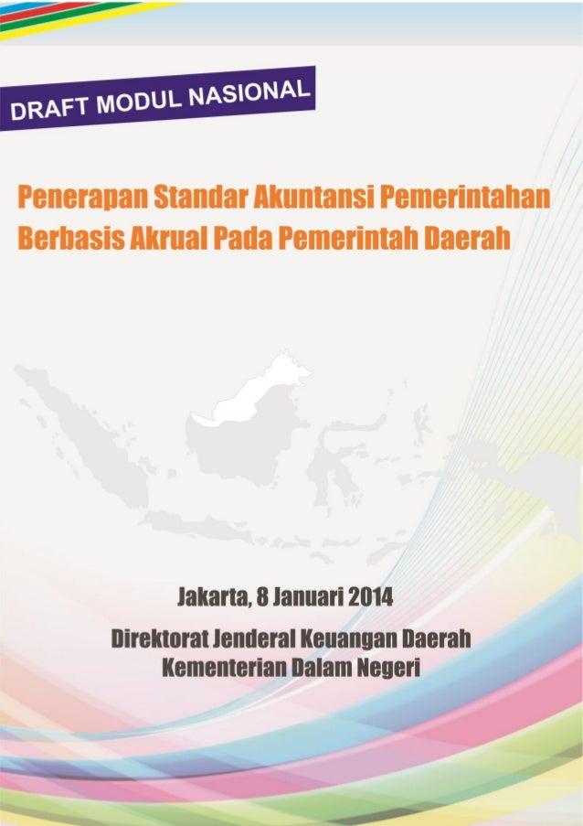 Cover dalam  Modul Akuntansi Nasional  Disiapkan oleh:  Deddi Nordiawan, SE, Ak, MM  Bramana Purwasetya, S.Sos, MSI  Mauli...