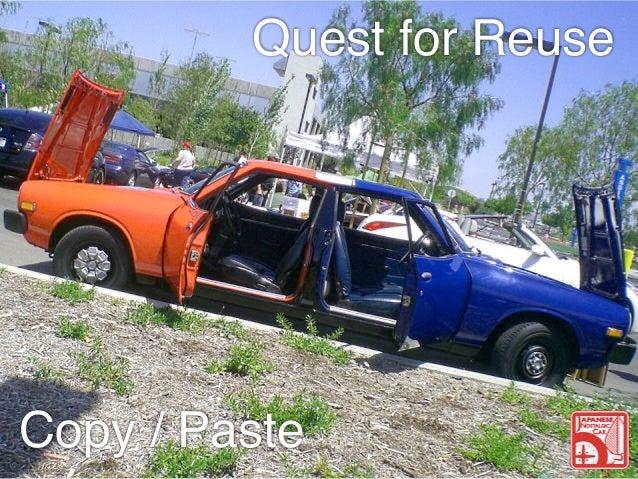 Quest for Reuse  Copy / Paste