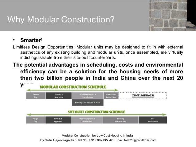 ... 15. Why Modular Construction?