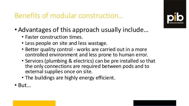 Modular Construction And Insurance Considerations