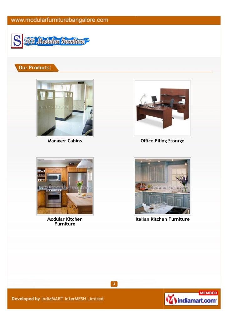 Scs Modular Furniture, Bangalore, Work Station Cubicals
