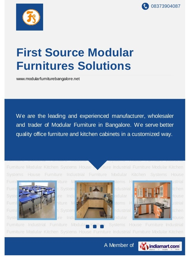 08373904087    First Source Modular    Furnitures Solutions    www.modularfurniturebangalore.netIndustrial Furniture Modul...