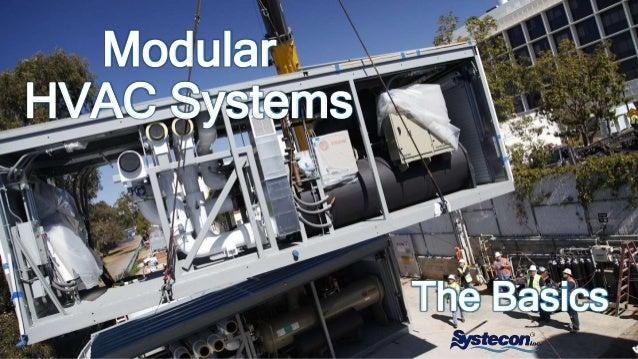 Modular HVAC Systems The Basics