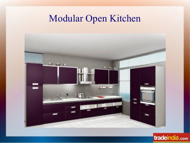 Modular Open Kitchen; 5.