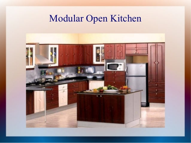 Modular Open Kitchen; 6.