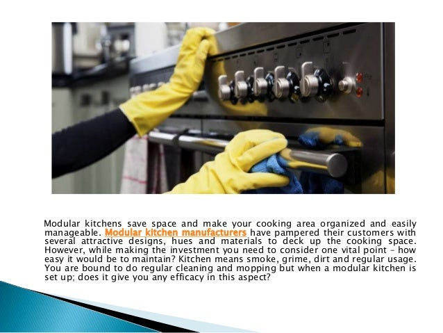 2. Check The Following Points To Know Easy Cleaning Tips Of Modular Kitchens  ...