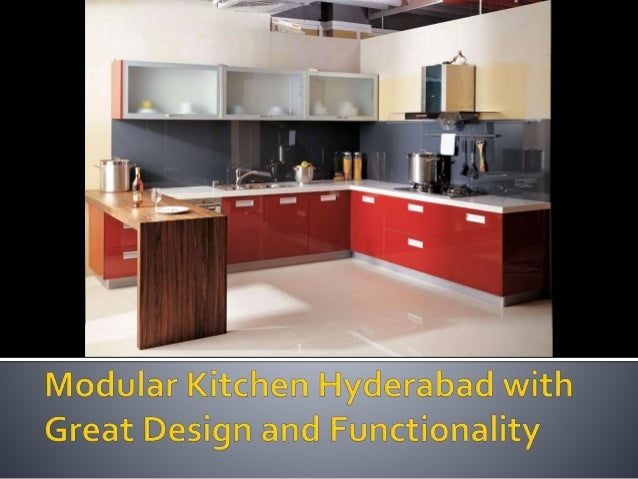 Setting Up Modular Kitchen Design Not Only Ensures A Trendy Makeover To Your Cooking Space