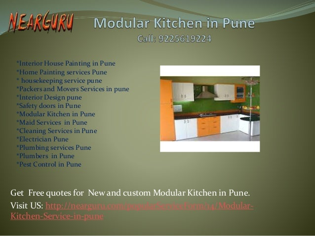 Modular Kitchen In Pune Interior Design In Pune Cleaning Services In