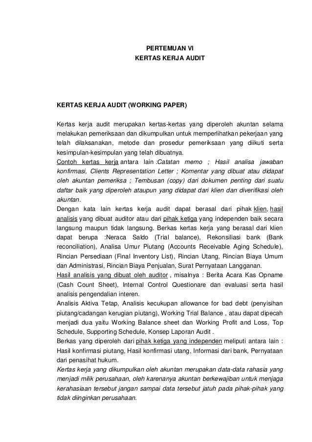 Contoh Surat Konfirmasi Piutang Audit