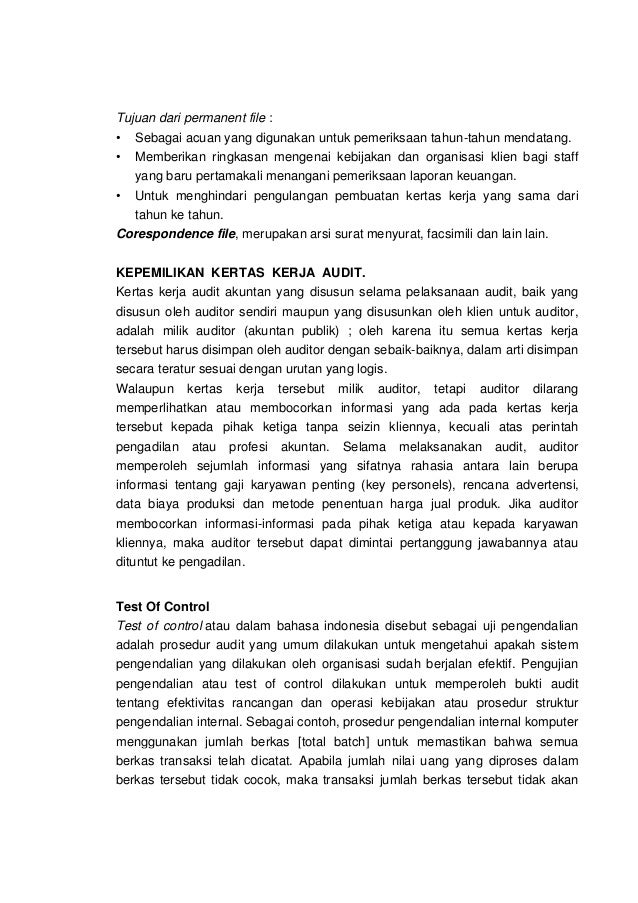 Modul Audit Jadi Libre