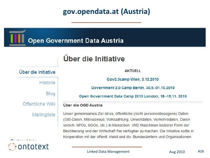 data-publica.com (France)           Linked Data Management   Aug 2010   #28