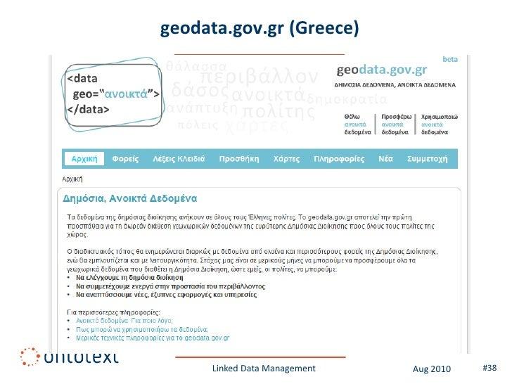 opendata.go.ke (Kenya)          Linked Data Management   Aug 2010   #38