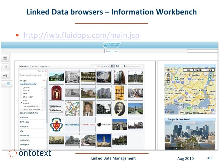 FactForge – Loading and Inference Statistics                             Explicit     Inferred     Total # of    Entities ...