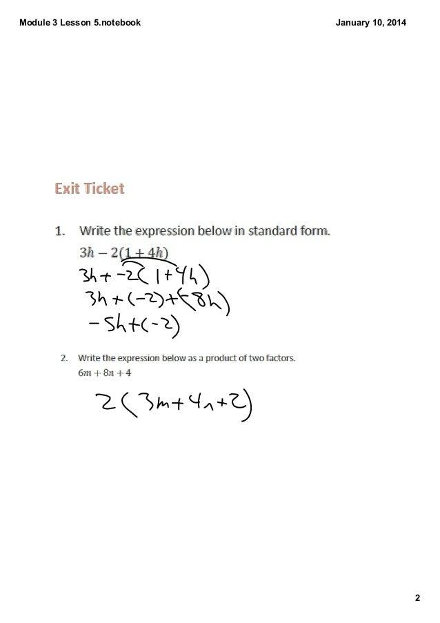 Module 3 lesson 5