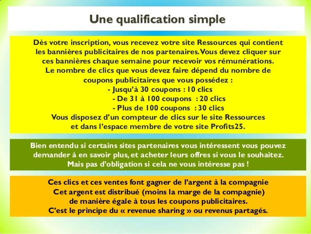 Une qualification simple Bien entendu si certains sites partenaires vous intéressent vous pouvez demander à en savoir plus...