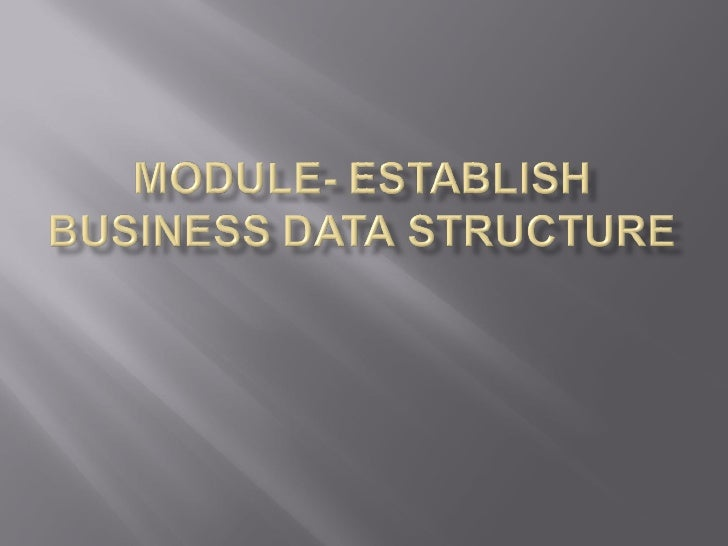    Create/Modify Reference Data   Create/Modify CI Support data   Create/Modify Transactional Record Support    data  ...