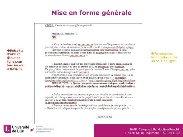 module rediger lettredemotivation