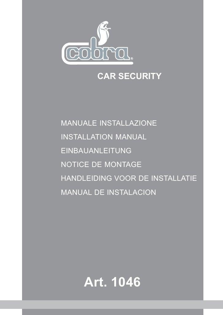 Module Telecommande Cobra 1046 chez autoprestige-tuning