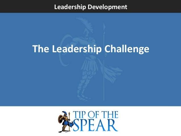 Leadership Development  The Leadership Challenge