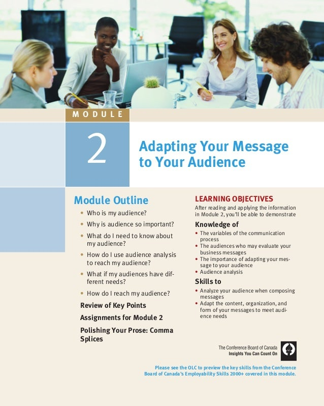 2 LEARNING OBJECTIVES After reading and applying the information in Module 2, you'll be able to demonstrate Knowledge of •...