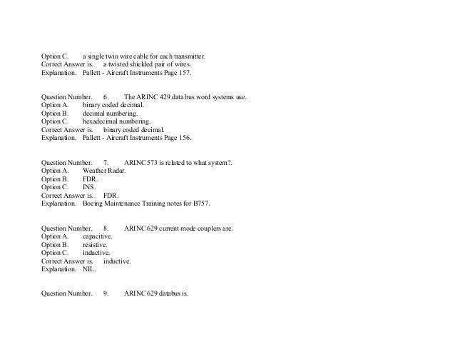 EASA Part-66 Module05 mcq's