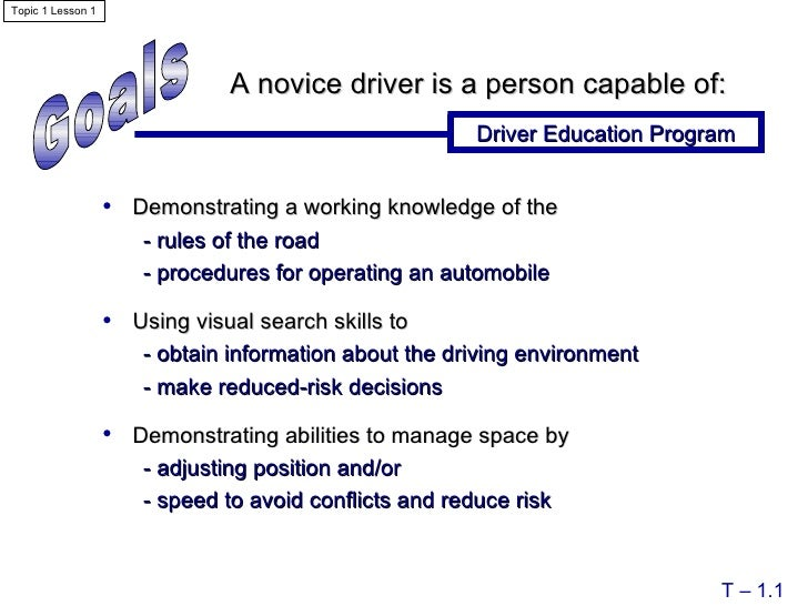 module 7 topic 3 drivers ed