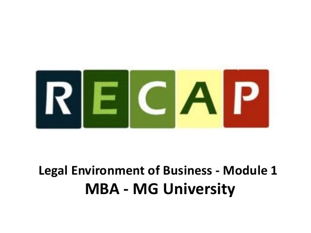 basic legal environment Definition of business environment: the combination of internal and external factors that influence a company's operating situation.