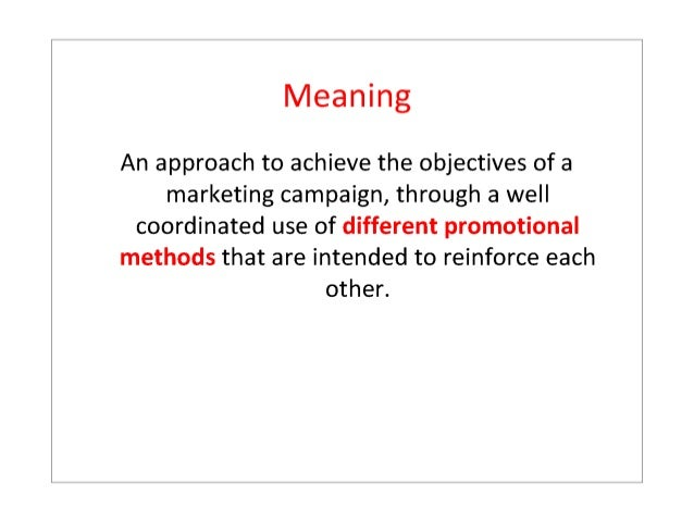 Communication objectives examples advertising.