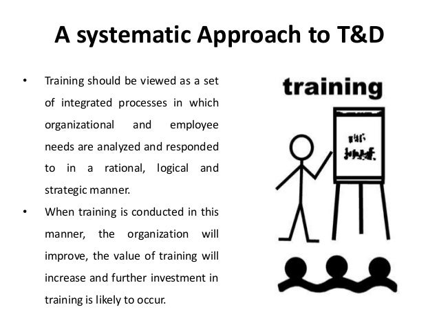 Systematic approach to modelling