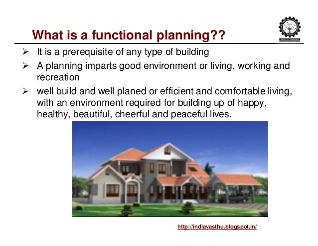 functional planning definition