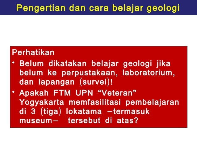 introduction to geology Introduction to geology permission required: no distribution: geology  prerequisite: (rea0017) or ( rea0011) credits: 300 credits lecture: 300  hours.
